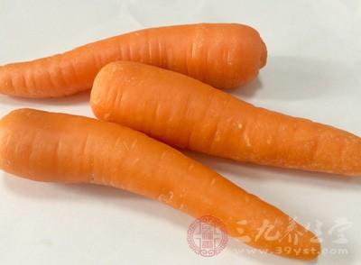 胡萝卜的养生功效