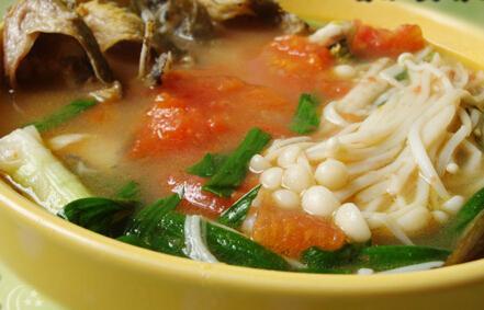 三伏天靓汤 番茄黄骨鱼汤